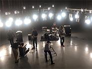 音楽の映像を撮影編集する会社